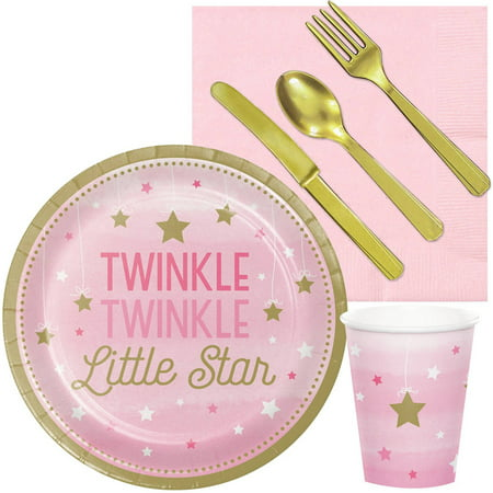 Twinkle Twinkle Little Star Pink Snack Party Pack (Halloween Snacks For Classroom Parties)