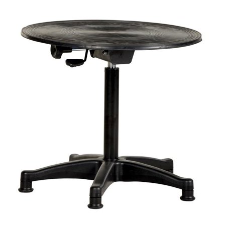 Vestil Manufacturing TT-N-24-CPED 21 to 31 in. 2 Tier Manual Turn Table, 24 in. Dia.
