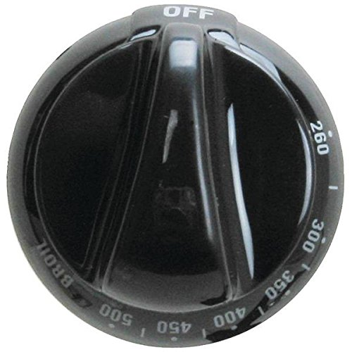 Exact Replacement Parts Erwb03k10159 Black Thermostat Replacement Knob