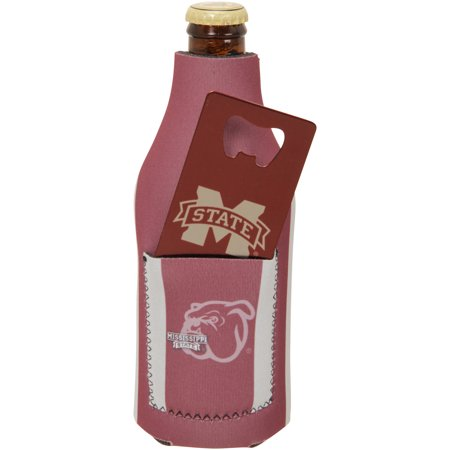State Bulldogs Pocket - Mississippi State Bulldogs Bottle Insulator with Pocket and Opener - No Size