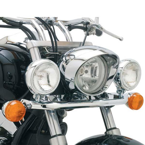 Cobra Lightbar Angled w/Bullet Spotlights Fits 04-09 Honda VTX1300C