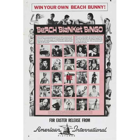 Beach Blanket Bingo (1965) 11x17 Movie Poster](Halloween Abc Bingo)