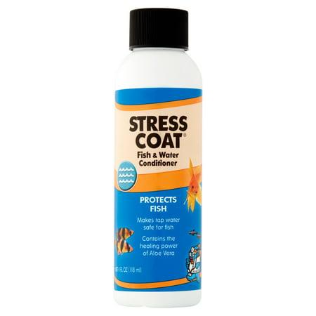 Api Aquarium Pharmaceuticals Stress Coat Fish   Tap Water Conditioner  4 Oz