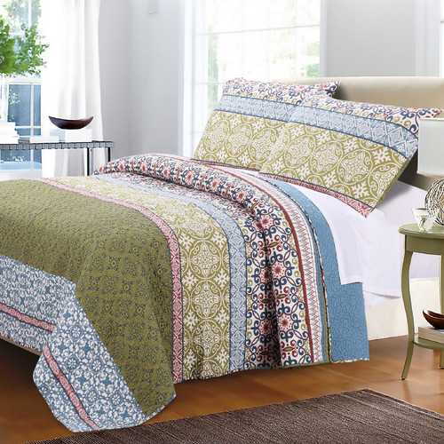 greenland home fashions shangrila quilt set - Greenland Home Fashions