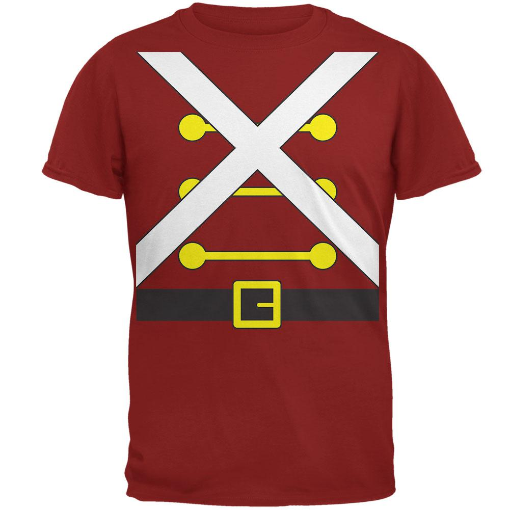 Christmas Toy Soldier Costume Mens T Shirt