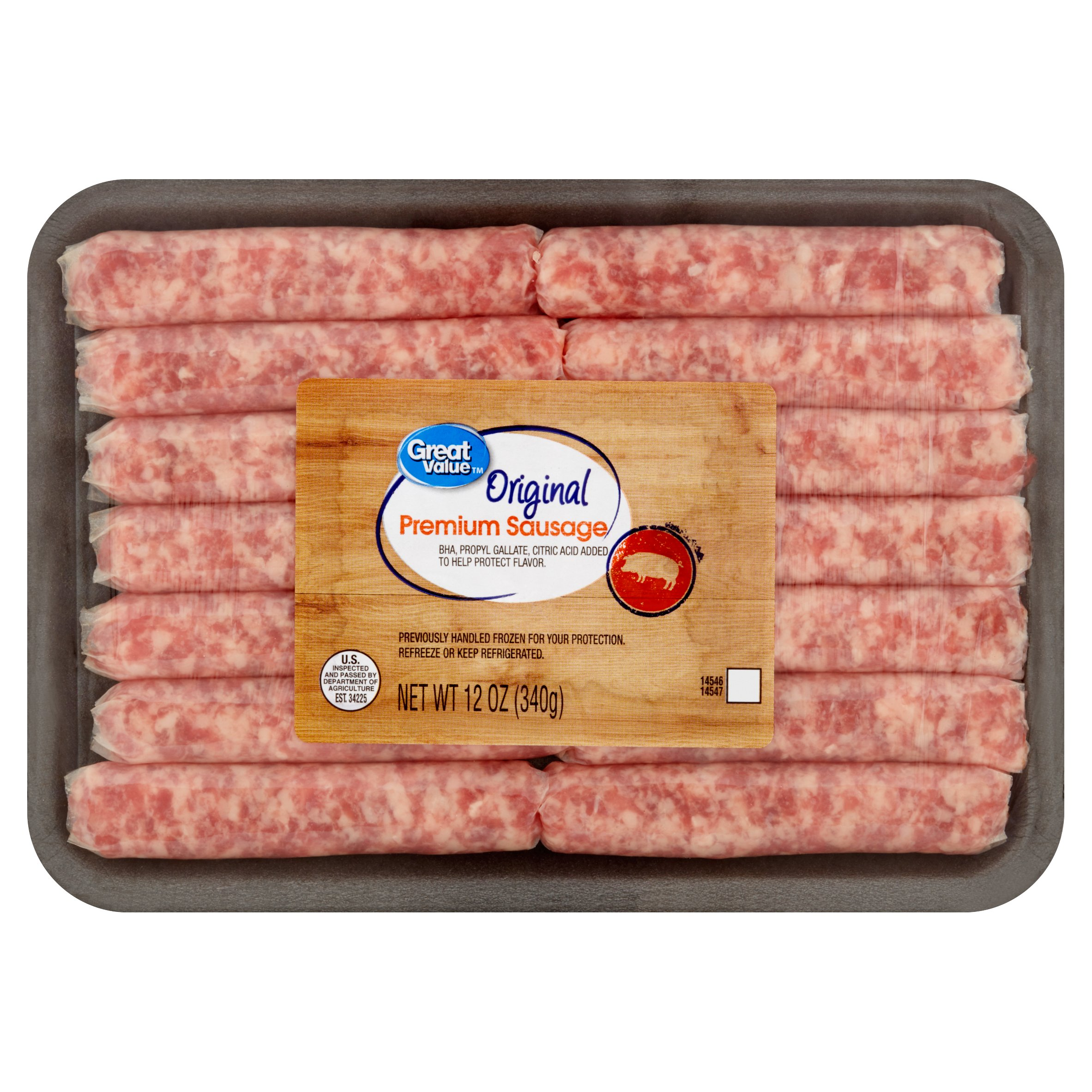 Great Value Original Premium Sausage