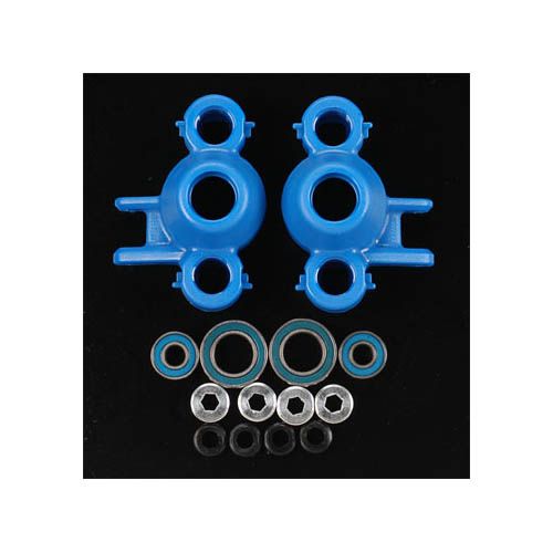 80585 Axle Carriers/Oversized Bearings Blue Revo Multi-Colored