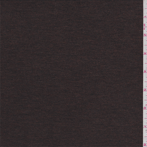Tobacco Brown Jersey Knit, Fabric By the Yard