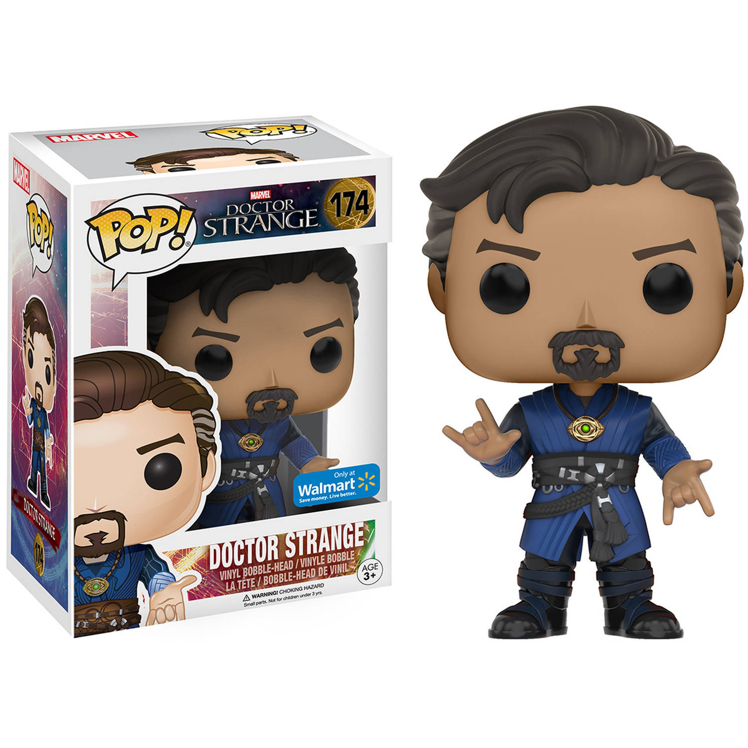 Funko POP! Marvel Dr. Strange, Dr. Strange, Walmart Exclusive