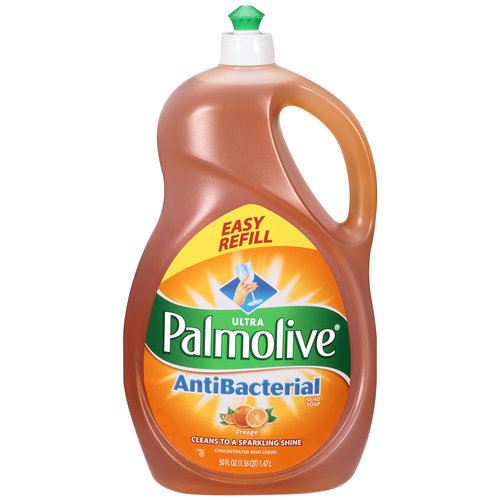 Palmolive Ultra Concentrated Orange Antibacterial Dish Liquid, 50 oz