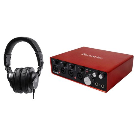focusrite scarlett 18i8 2nd gen usb recording interface presonus pro headphones. Black Bedroom Furniture Sets. Home Design Ideas