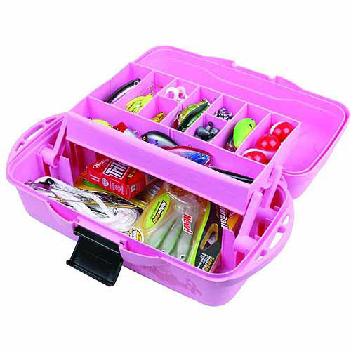 Flambeau 1-Tray Tackle Box, Pink