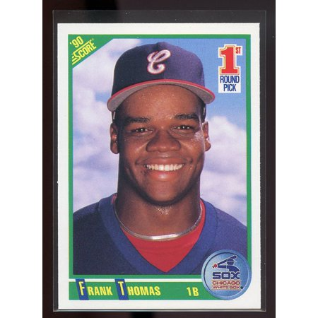 - 1990 score #663 FRANK THOMAS chicago white sox ROOKIE card