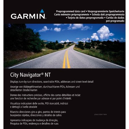 Carte Europe Garmin.Garmin City Navigator Europe Nt