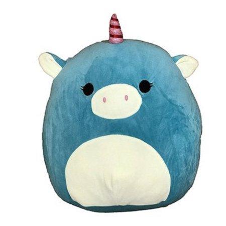 Blue Unicorn Kigurumi (Squishmallow Kellytoy 8