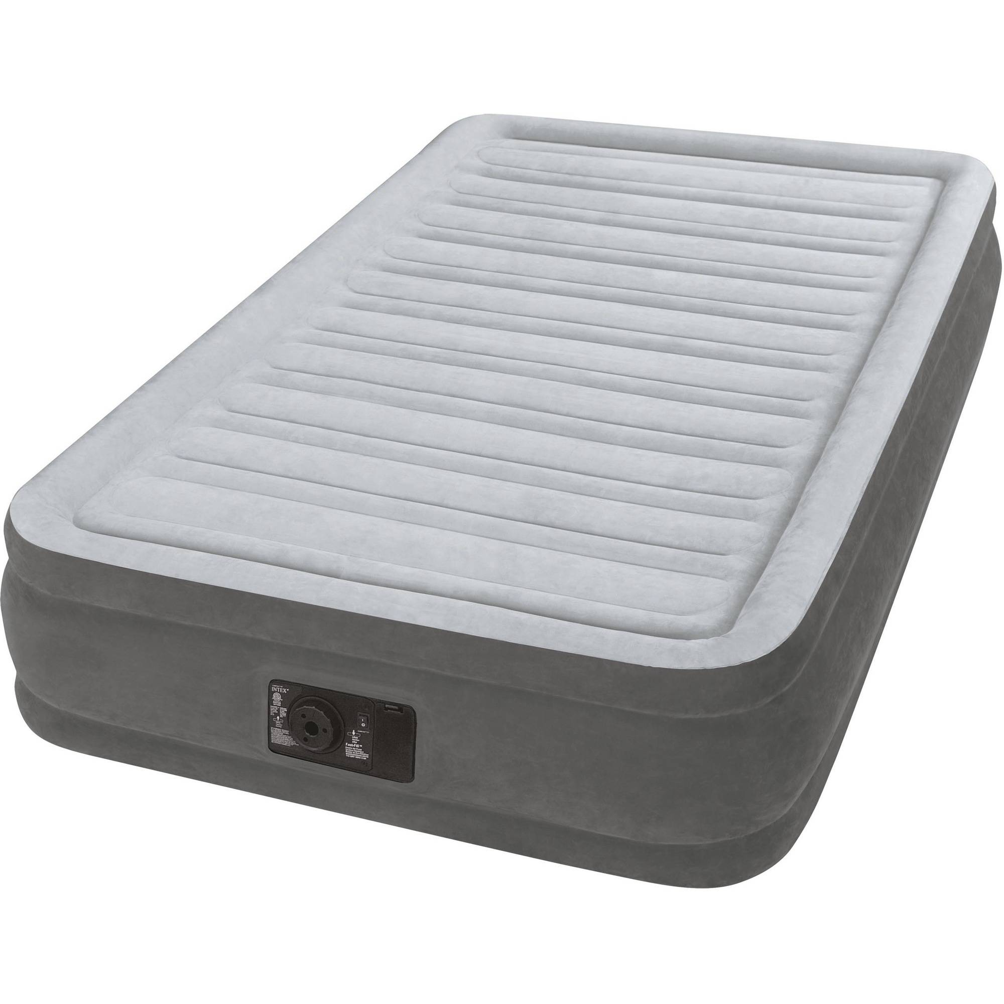 "Intex Twin 13"" DuraBeam Comfort Plush Mid-Rise Airbed Mattress"