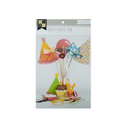 Kole Imports KL763-72 25 Piece Insta Photo Fun Photo Props - Pack of 72 - image 1 de 1