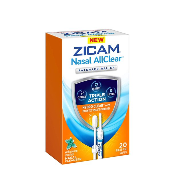 Zicam Nasal Allclear Triple Action Nasal Cleanser With