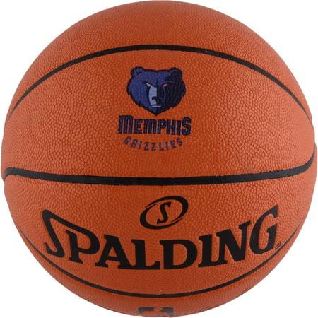 Vancouver Grizzlies Basketball (Memphis Grizzlies Spalding Official Size Logo Basketball )