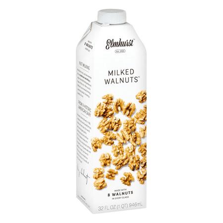 (6 Pack) Elmhurst Milked Walnut Milk, 32 fl -