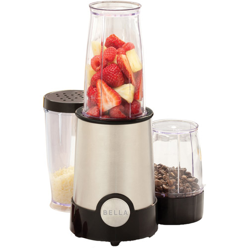 Bella 12-Piece Chrome Rocket Blender