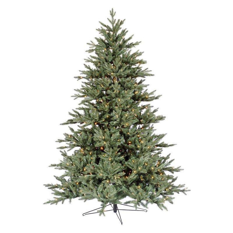 Blue Noble Fir Pre-lit LED Christmas Tree