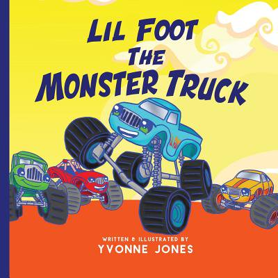 Lil Foot the Monster Truck - Paws Down Lil Monsters