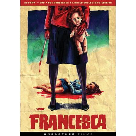 Francesca  Blu Ray   Dvd   Cd
