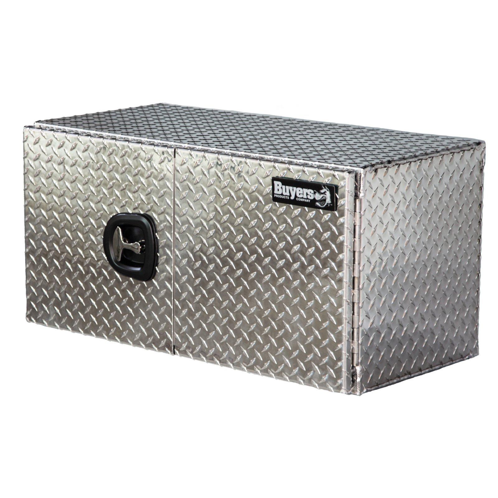 Buyers Aluminum Double Barn-Door Underbody Tool Box
