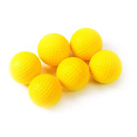 Tour Gear Golf Balls, Yellow, 6 Pack (Gear Ball Solution)