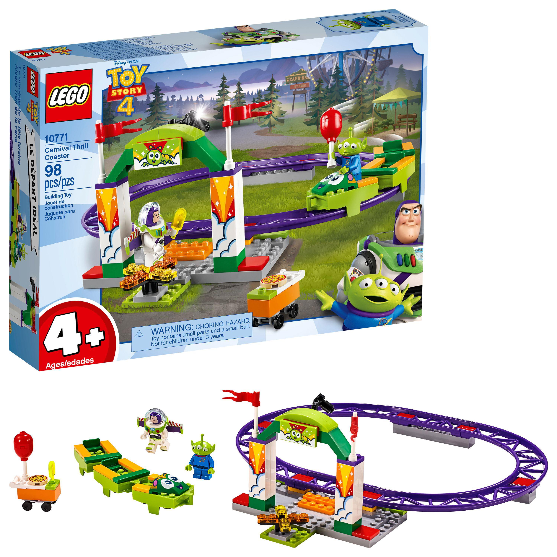 LEGO 4+ Disney Toy Story 4 Carnival Thrill Coaster 10771