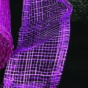 "Purple Sinamay Abacá Fiber Craft Ribbon 3"" x 64 Yards"