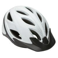 Schwinn Pathway Adult Bicycle Helmet, ages 14+, white