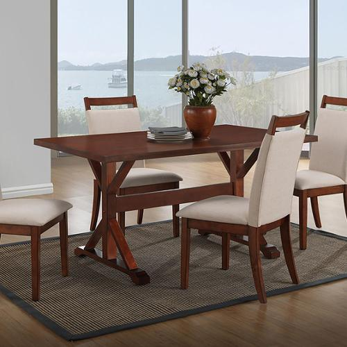 Carolina Chair and Table Ansel 36 x 60 Trestle Table
