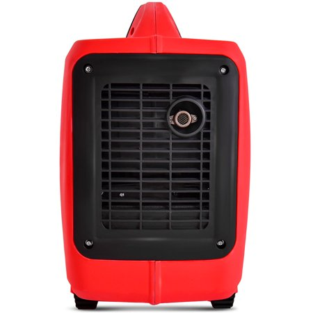 Portable 2750W Digital Inverter Generator 4 Stroke 125cc Single Cylinder Red - image 7 of 10