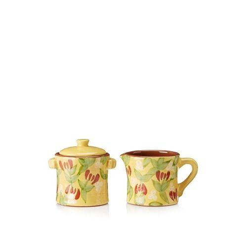 Artland Margaux Creamer & Sugar Bowl (With Lid) by Artland
