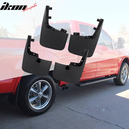 F150 Mud Flaps >> Fits 15 18 Ford F150 Mud Flaps Splash Mud Guards Without Fender Flares 4pc Set