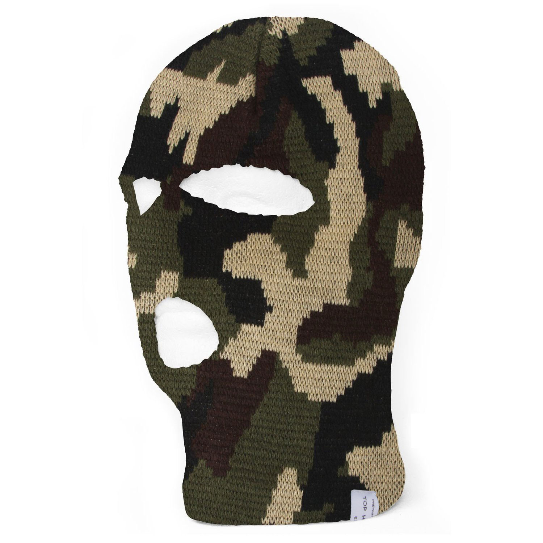 Topheadwear Ski Mask One Eye Hole Black Walmart