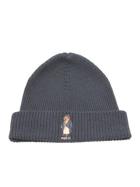 12f4a051bed Product Image Polo Ralph Lauren Polo Bear Knit Navy Business Man Scully  Beanie Hat PC0111-434