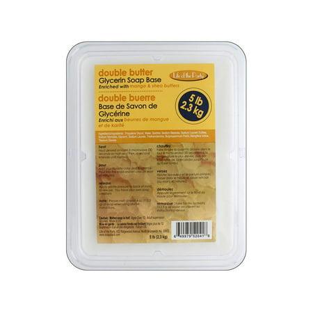 Life/Party Soap Base Glycerin 5lb Double (Base Snap)