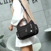 Women Fashion Nylon Messenger Single Shoulder Crossbody Bag Waterproof Bags
