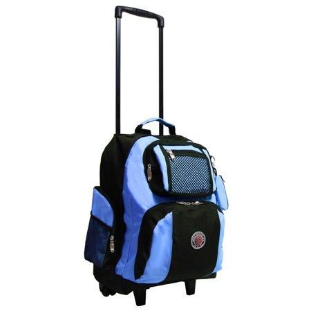 Transworld Roll-Away Deluxe Rolling Backpack