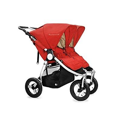 BumbleRide 2016 indie twin stroller (red sand)