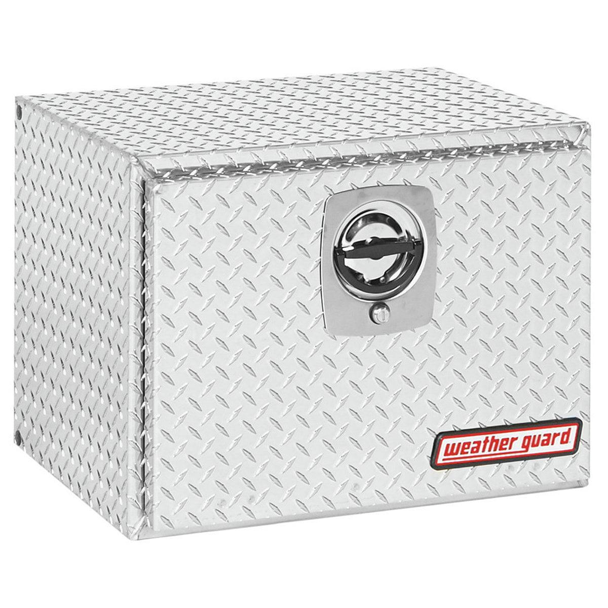 Weather Guard (627002) Underbed Tool Box, Aluminum