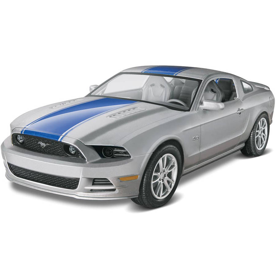 85-4309 Revell Pre-Decorated Silver 2014 Mustang GT Model Kit by Generic