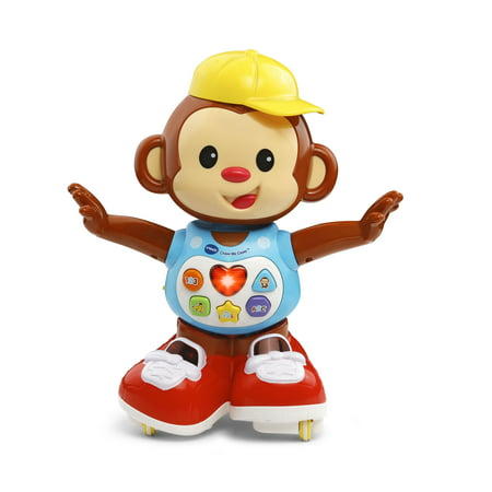 VTech Chase Me Casey Monkey Playfully Encourages Walking and Dancing