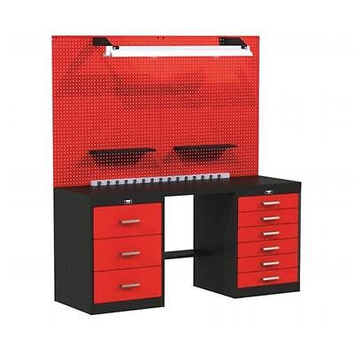 72 W x 24 D x 78 H in. Fort Knox BASIC Modular Workbench System With Steel To... Tools [Istilo150646] by GSSTools