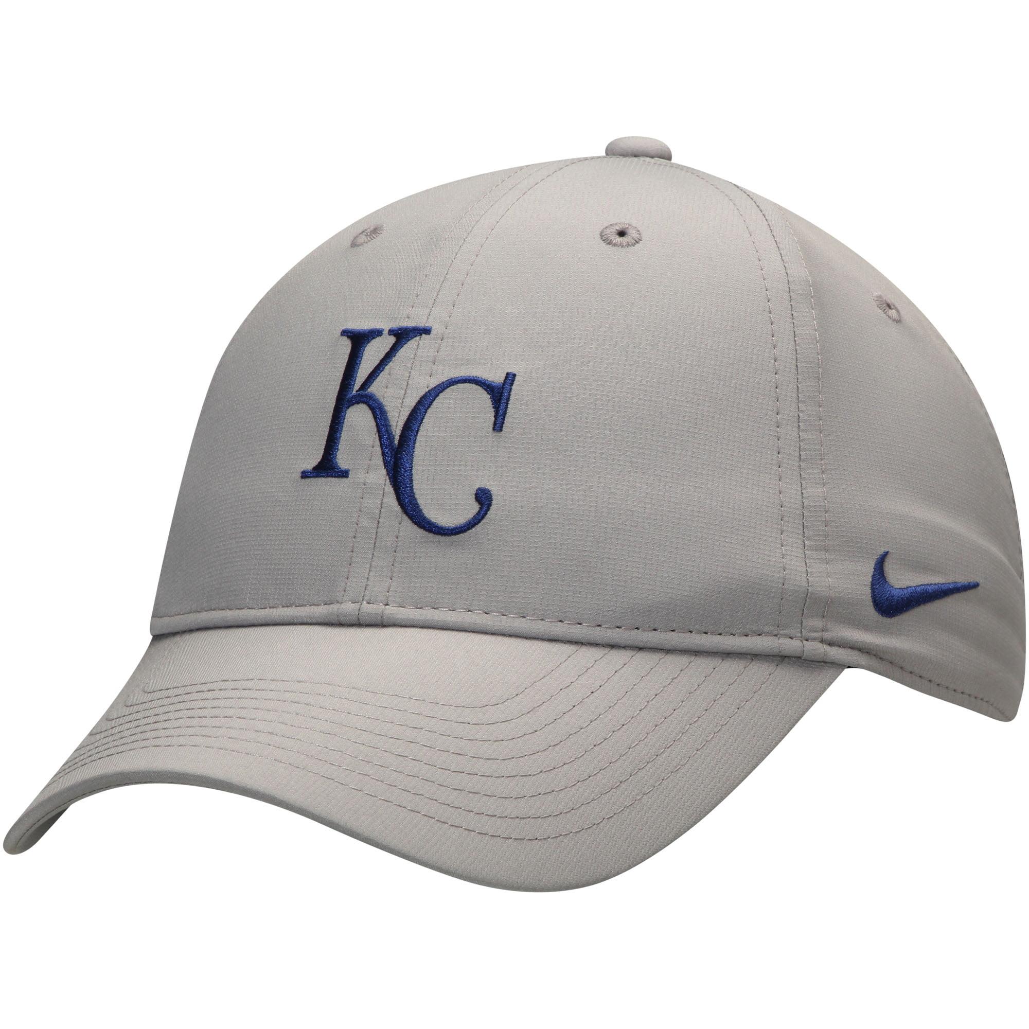 94c38ed6 Kansas City Royals Nike Legacy 91 Adjustable Performance Hat - Gray - OSFA