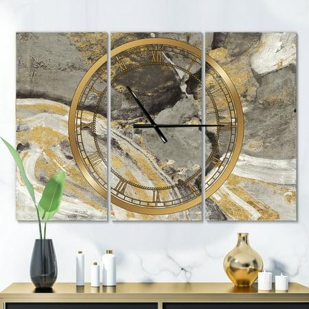 DesignArt Glam Phoenix Neutral Large Wall Clock - image 1 de 2