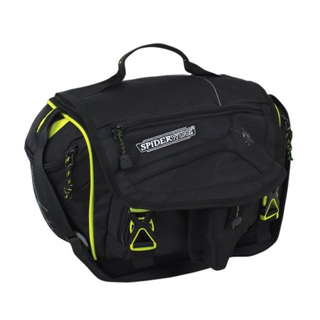 Foul Weather Fishing Gear (Orb Spider Fishing Tackle Bag, 15.7-Liter, Black, All-weather soft tackle bag keeps fishing gear organized and close at hand By Spiderwire )
